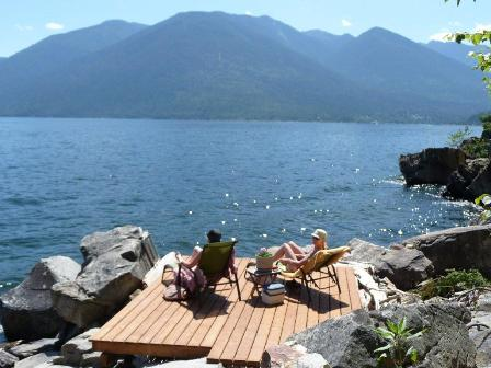 McEwan Point Cabin For Rent Kootenay Lake