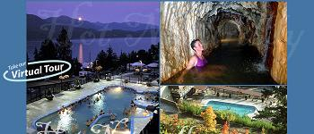 ainsworth hot springs Kootenay Lake BC