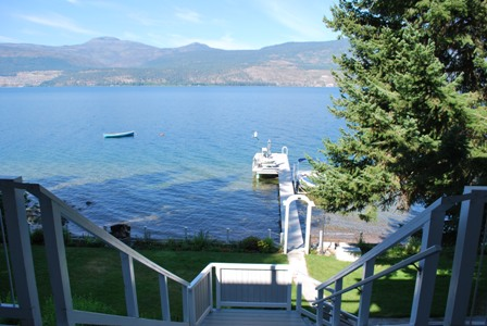 Lakefront Cottage Okanagan Lake
