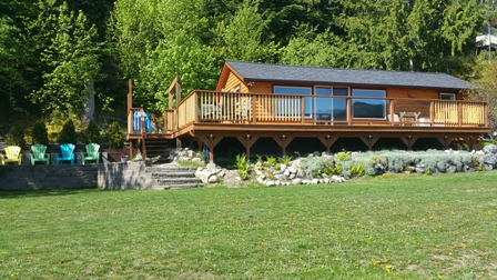 Queens Bay Cabin For Rent Balfour