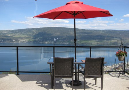 View of Okanagan Lake