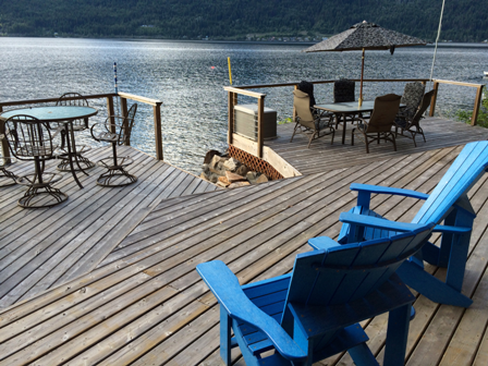 Lakefront Cabin For Rent Shuswap Lake
