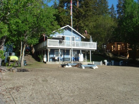 Lakefront Cabin For Rent - Little Shuswap Lake